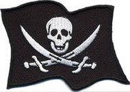 Pirate Flag Patch Image