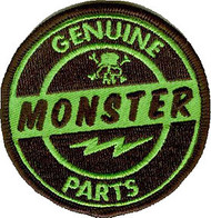 Kruse Genuine Monster Parts Patch Image