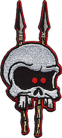 Kruse Speared Skull Patch Image
