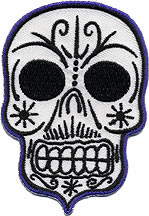 Kruse Muerto Skull Patch Image