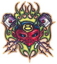 Von Franco Piston Devil Patch Image