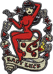 Vince Ray Lady Luck Patch Image