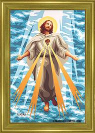 Almera Jesus Light Fine Art Print Image