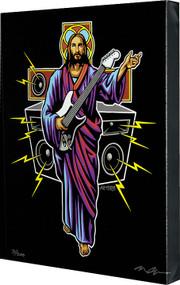 Almera Guitar Hero Fine Art Print on Canvas Image