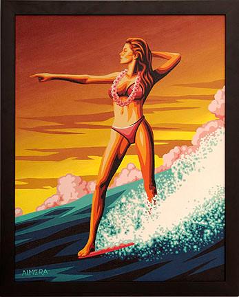 Almera Waikiki Original Painting Image