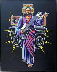 Almera Guitar Hero Original Painting Image