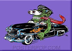 Forbes Weiner Dude Fridge Magnet Purple Image