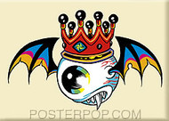 Forbes Flying Eyeball Fridge Magnet Image