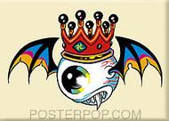 Forbes Flying Eyeball Fridge Magnet Image