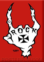 Pigors Rock Fridge Magnet Image