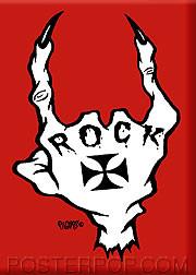 Pigors Rock Fridge Magnet Image