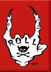 Pigors Roll Fridge Magnet Image