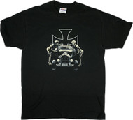 MA48 Almera Psychobilly Rat Rod T Shirt