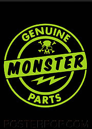 Kruse Genuine Monster Parts Magnet Image