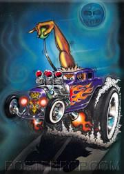 Von Franco Monster Shifter Fridge Magnet Image