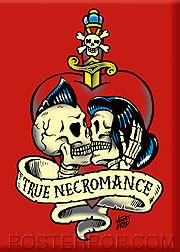 Vince Ray True Necromance Fridge Magnet image