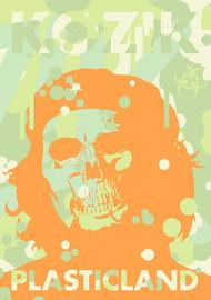 Kozik Plasticland Hard Cover Book Image