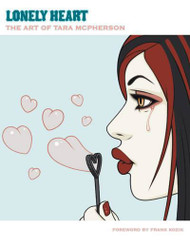 Tara McPherson Lonely Heart Book Hard Cover Image