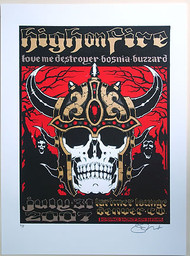 Forbes High On Fire 2007 Denver Poster A.P. Image