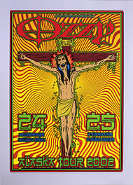 Forbes Ozzy Osbourne 2002 Silkscreen Concert Poster Image