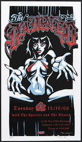 BigToe The Damned Silkscreen Concert Poster 2006 Image