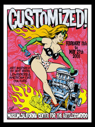 Coop Customized Art Show San Diego Silkscreen Poster image