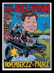 Coop Jon Spencer Blues Explosion  Silkscreen Concert Poster 1996 Image