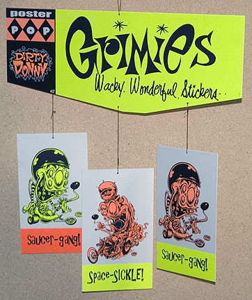 Dirty Donny Grimies Silkscreened Hanging Mobile 2007 Image 3