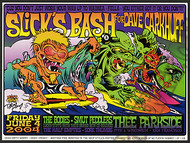 Dirty Donny Slicks Bash 2004 Concert Poster Image