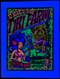 Blacklight Photograph image of the Dirty Donny Tiki Farm 10th Anniversary Dynotones Silkscreen Concert 2010