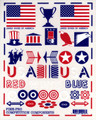 Pine-Pro - 10018 Patriotic Decal Set - 10018