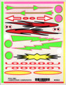 Pine-Pro - 10021 Flames & Arrows Decal - 10021