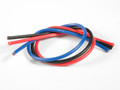 TQ Wire - 13 Gauge Super Flexible Wire- 1' ea. Black, Red, Blue - 1303