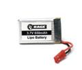 Rage RC - 1s 3.7v 650mah Lipo Battery; Stinger 240 - 4054