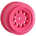 RPM RC Products - Revolver Short Course Wheels, Pink, For Front Traxxas Slash - 82327