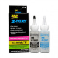 ZAP Glue - Z-Poxy 15 Minute Epoxy 4 oz. Set - PT-35