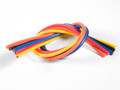 TQ Wire - 13 Gauge Super Flexible Wire- 1' ea. Black, Red, Blue, - 1305