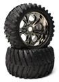 "CEN Racing - ""V-Pattern"" Wheels & Tires (Pre-Glued 1pr) - CKR0505"
