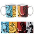 Underground Toys - Drinkware - Star Wars - 20oz Ep VII The Force Awakens Comic Mug