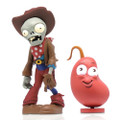 "Jazwares - Plants Vs Zombies Figures - 3"" Cowboy Zombie w/ Chili Bean - Action Figure"