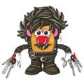 Ppw Toys - Mr Potato Head - Edward Scissorhands - Edward - Action Figure