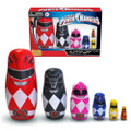 Ppw Toys - Nesting Dolls - Power Rangers (Wood) - Action Figure