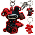 Abysse America - Keychains - DC Comic's - PVC Harley Quinn