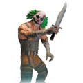 Dc Collectibles - Batman Arkham City Figures Series 3 - Clown Thug w/ Knife Figure - Action Figure