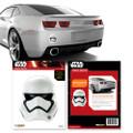 Fanwraps - Automotive Graphics - Star Wars - 1st Order Stormtrooper Helmet