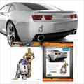 Fanwraps - Automotive Graphics - Star Wars - C-3P0 & R2-D2
