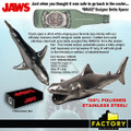 Factory Entertainment - Jaws Bottle Opener - Bruce Designer Bottle Opener