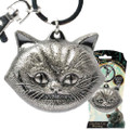 Monogram International, Inc - Alice Through The Looking Glass Keychains - Pewter Cheshire Cat Face
