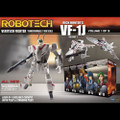 Toynami - Robotech Figures - 1/100 Scale Transformable Veritech Fighter Coll - Rick Hunter VF-1J Vol 1 - Action Figure