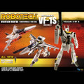 Toynami - Robotech Figures - 1/100 Scale Transformable Veritech Fighter Coll - Roy Fokker VF-1S Vol.3 - Action Figure